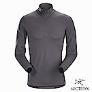 Arcteryx 男 Phase AR 保暖 抗臭 內層套頭衫 機長灰