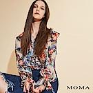 MOMA 印花雪紡上衣