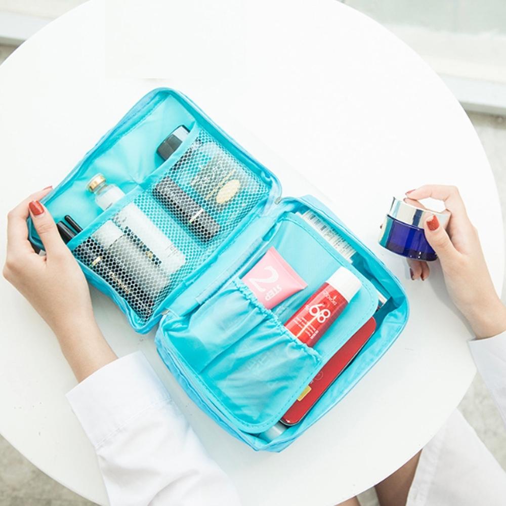 【Cap】 旅遊必備神器時尚旅行收納盥洗包