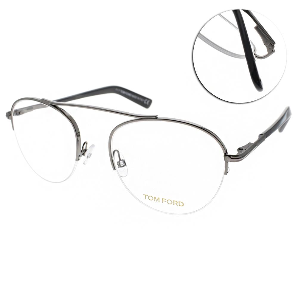 TOM FORD眼鏡 復古經典/槍-黑 #TF5451 012 @ Y!購物