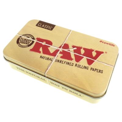 RAW 西班牙進口Tin Box-馬口鐵製收納盒(煙盒/捲煙紙盒/煙草盒)