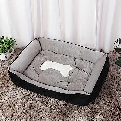 小款 四季通用 超柔軟加厚寵物床 狗窩 貓窩 狗床