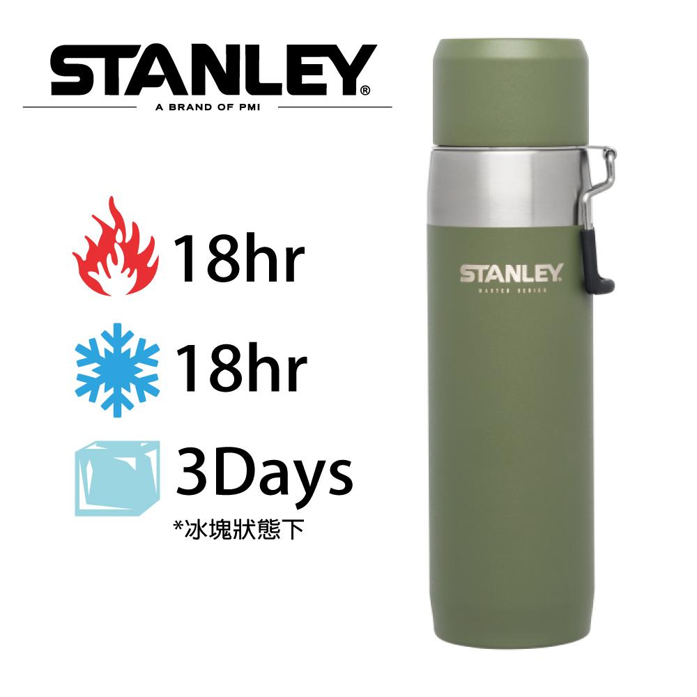 美國Stanley 強悍系列保溫瓶 0.65L-橄欖綠
