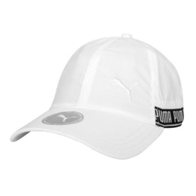 PUMA 棒球帽-帽子 防曬 遮陽 鴨舌帽 老帽 02285402 白黑