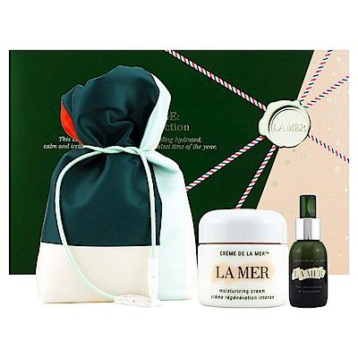 LA MER海洋拉娜 極緻再生獻禮(極緻濃縮再生精華30ml+乳霜60ml+限量旅行化妝包