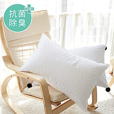 澳洲Simple Living 防霉抗菌負離子高彈力釋壓枕-二入(台灣製)