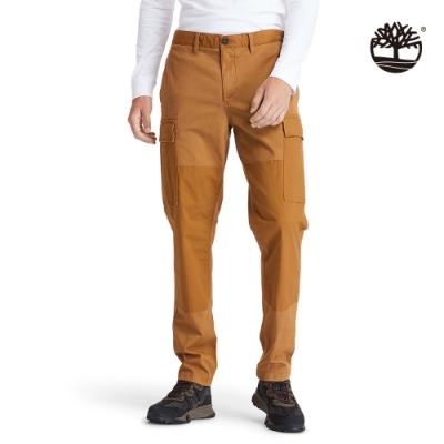 Timberland 男款橡膠色簡介湖寬鬆錐型工裝褲 A2CZ6