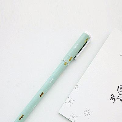 Livework 粉漾燙金0.5油性原子筆-R