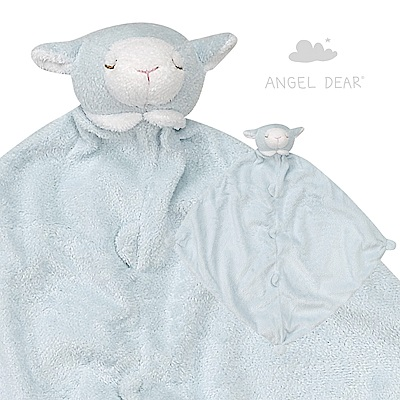 Angel Dear 動物嬰兒安撫巾 (藍色小羊)