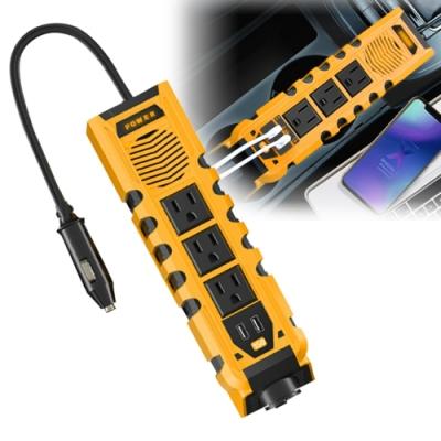 E8963W 12V轉AC110V/USB 車用電源轉換器