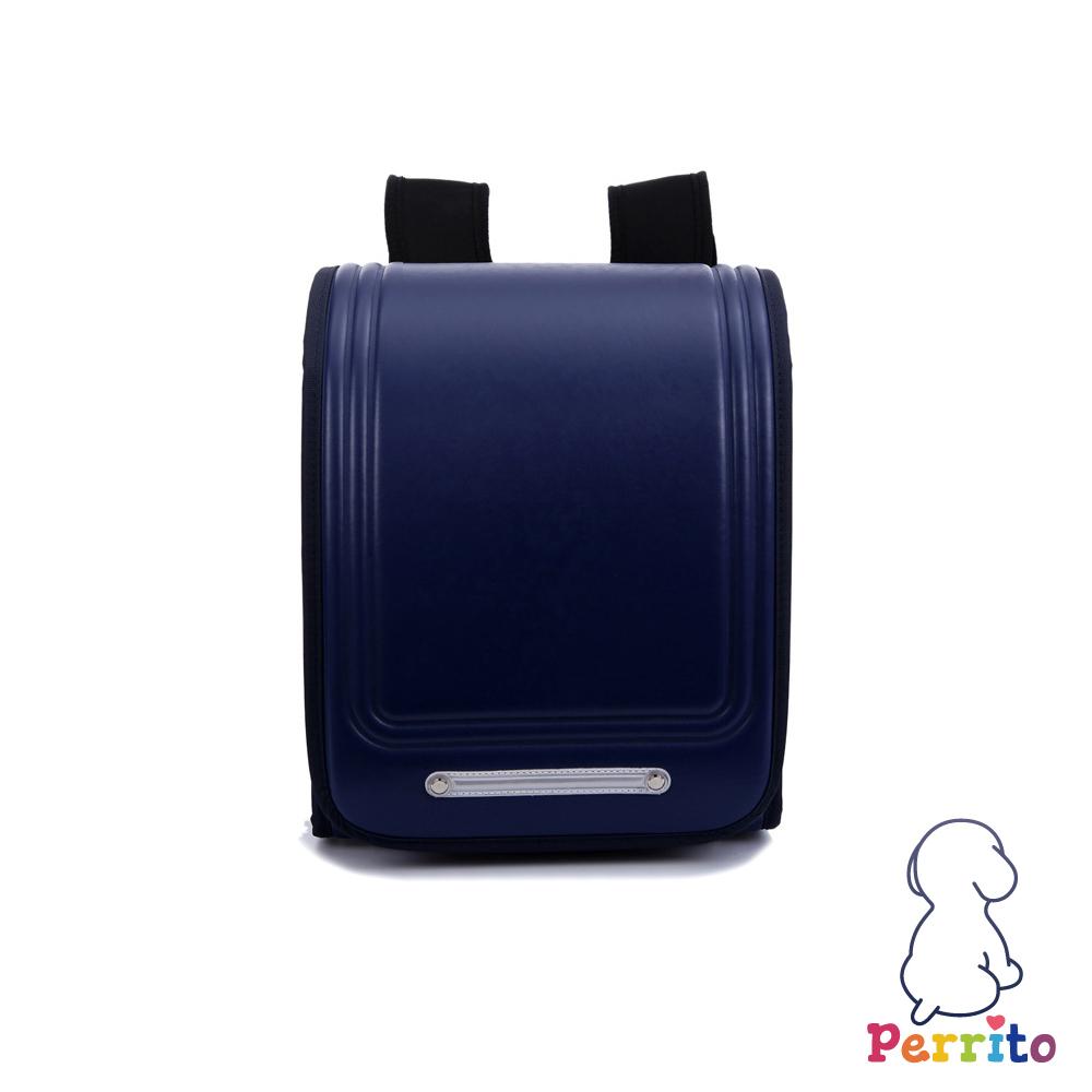 Perrito 貝瑞童「日本學園」核心護脊兒童書包-藍色