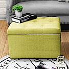 漢妮Hampton-莫里斯拉扣儲物箱-大-綠