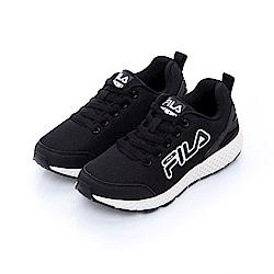FILA 中性輕量慢跑鞋-黑色 4-J026T-001
