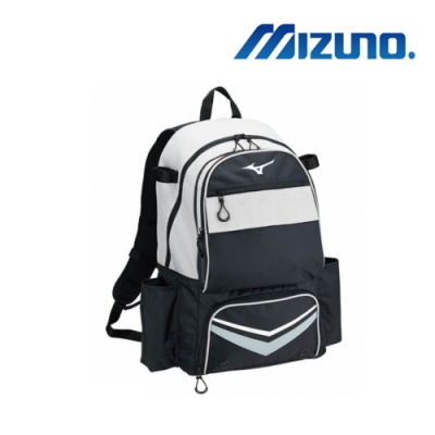 Mizuno 美津濃 背包式裝備袋 黑X灰 1FTD910007
