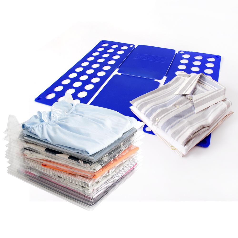 歐奇納 OHKINA 快速折衣板組(疊衣板10入+折衣板隨機色1入)