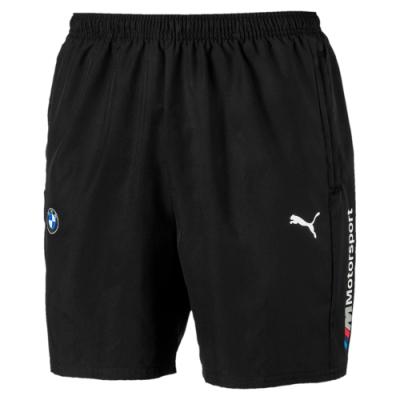 PUMA-男性BMW系列MMS短風褲-黑色-歐規