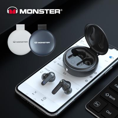 【Monster魔聲】Muse 100 AirLinks 真無線藍牙耳機 (入耳式降噪/低延遲遊戲耳機)