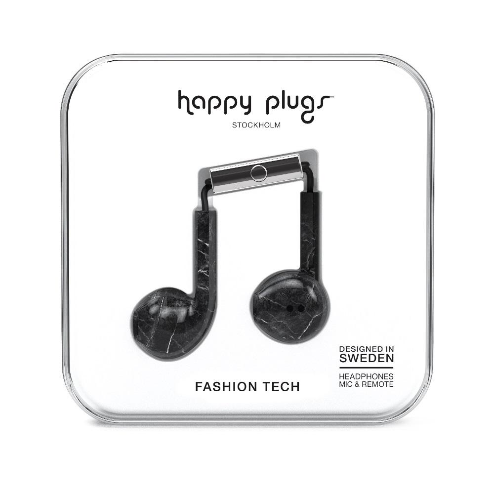 Happy plugs 極致耳塞式耳機 特仕限定款-大理石黑