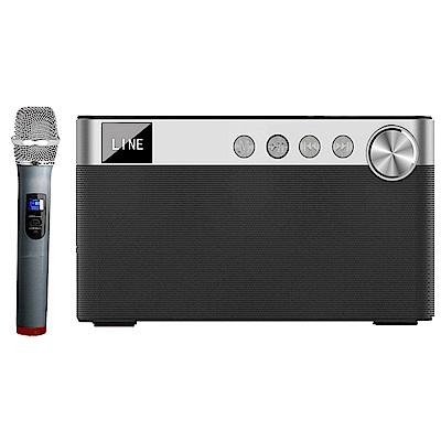 大聲公欣聲型無線式多功能手提行動音箱/喇叭(單手持麥克風組)