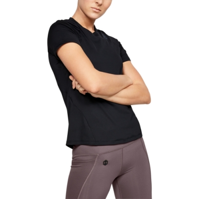 【UNDER ARMOUR】女 RUSH短T-Shirt