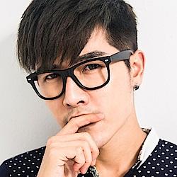 BuyGlasses 男神粗框銀點平光眼鏡