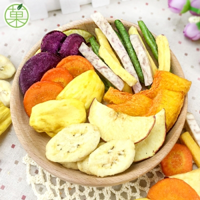 菓青市集 綜合蔬果脆片180g