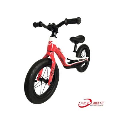 KREX 雙色輕量兒童滑步車 白紅