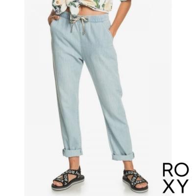 【ROXY】SLOW SWELL BEACHY BEACH 長褲 淺藍