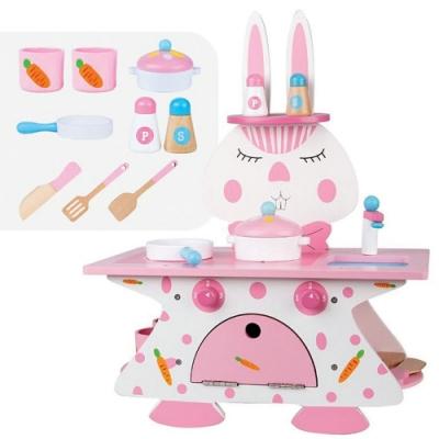 親親 木製粉紅兔廚房(MSN18004)