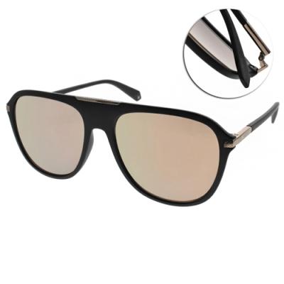 Polaroid 水銀偏光太陽眼鏡 男人味大框款/霧黑金 #PLD2070SX 003LM