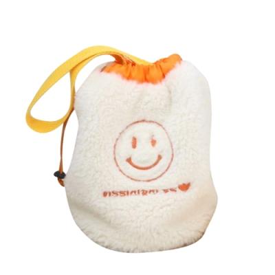 Baby童衣 可愛兒童包包 笑臉包 絨包 水桶包 88561