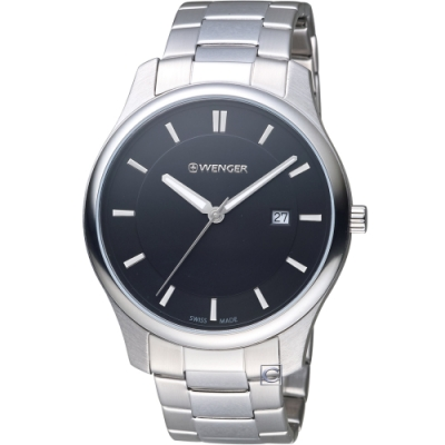 WENGER City 城市系列 經典簡約紳士腕錶(01.1441.104)43mm
