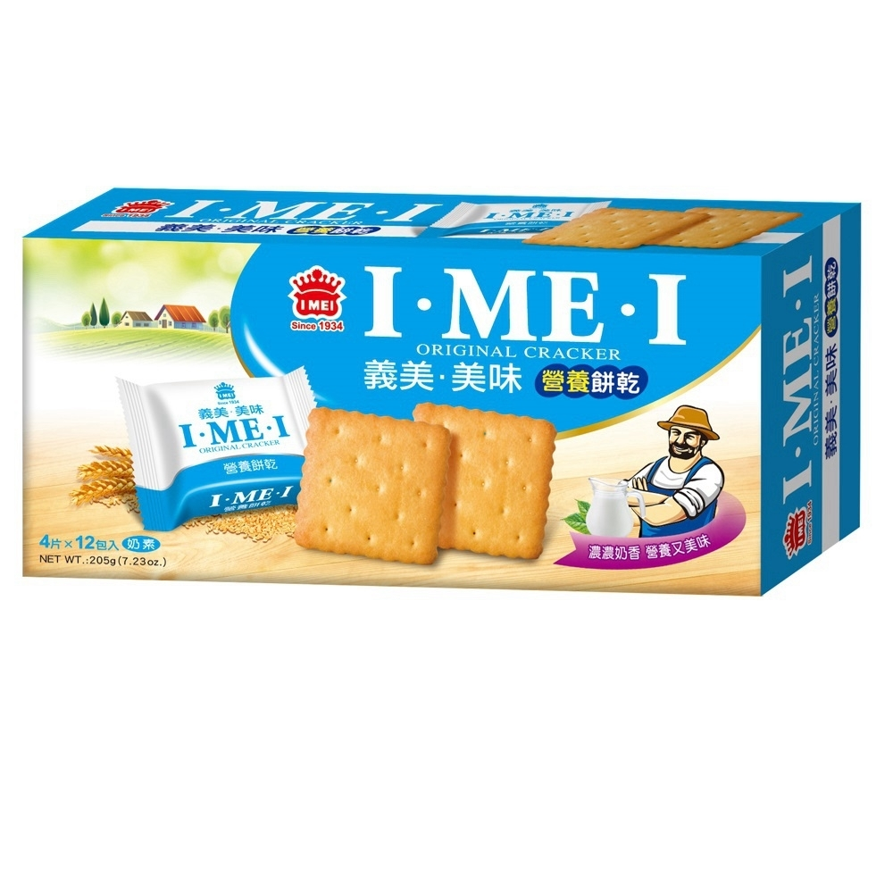 義美 美味營養餅(205g)