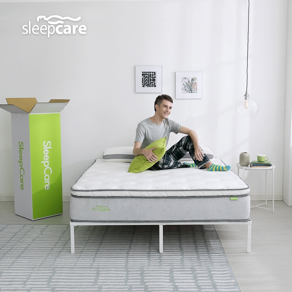 【SleepCare】極致膠囊獨立筒床墊-雙人加大6尺