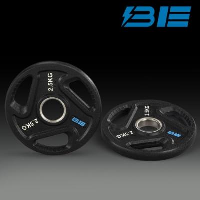 【BH】BE-O2.5-2.5KG奧林匹克包膠槓片-二入組