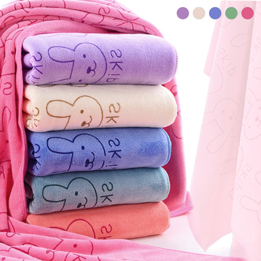 小兔重磅瞬間吸水浴巾-多色選擇