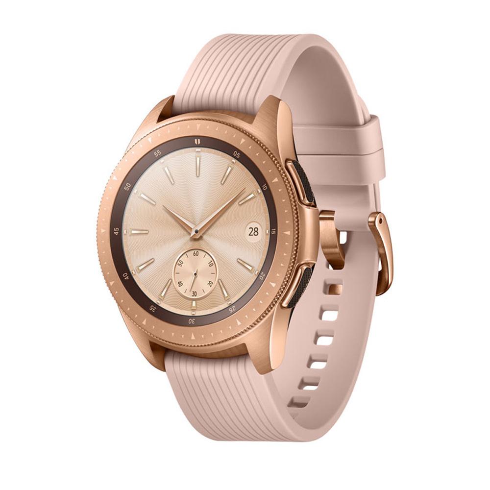 【LTE版】Samsung Galaxy Watch 智慧型手錶 (42mm)-玫瑰金