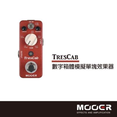 MOOER TresCab數字箱體模擬單塊效果器