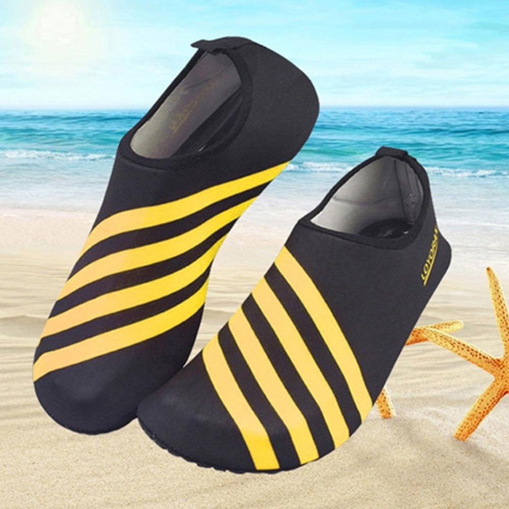 韓國KW美鞋館-線條水陸兩用速乾防滑鞋-黃