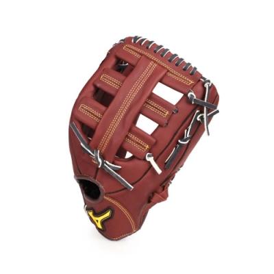 MIZUNO 棒球手套外野手用 咖啡黃