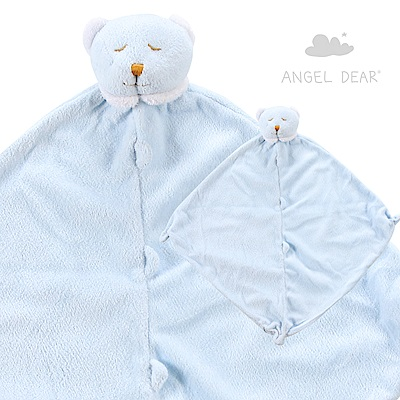 Angel Dear 動物嬰兒安撫巾 (藍色熊熊)