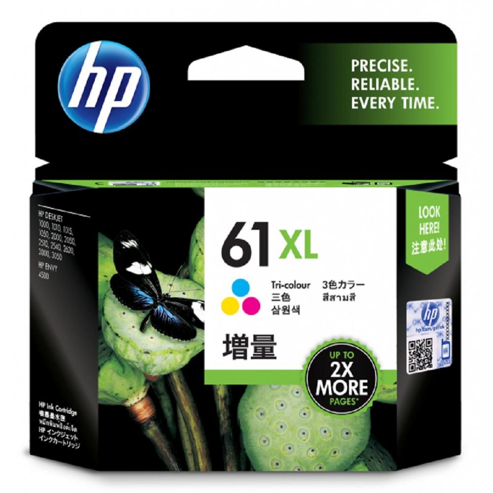 HP CH564WA 原廠彩色高容量墨水匣 NO:61XL