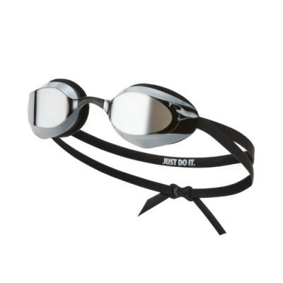 Nike 泳鏡 Vapor Mirror Swim Go 游泳池 蛙鏡 專業型 成人 鏡面 黑 NESSA176040