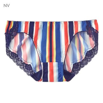 aimerfeel 七彩直條紋無痕內褲-海軍藍-177021-NV
