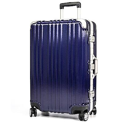 aaronation - 26吋MF髮絲紋系列行李箱-URA-1369S-26