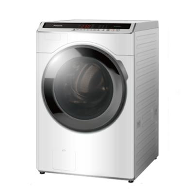 Panasonic國際牌16公斤變頻洗脫滾筒洗衣機NA-V180HW-W冰鑽白
