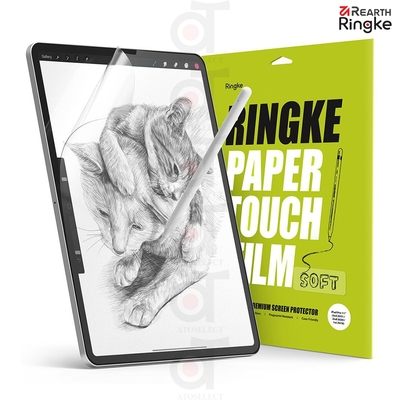 【Ringke】Rearth Apple iPad Air 4 2020 10.9吋 / iPad Pro 11吋 Paper Touch Film 類紙膜 保護貼-2片裝