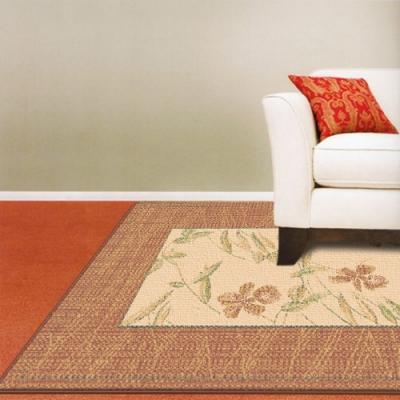 范登伯格 - 光庭天然羊毛花印進口地毯 -淡粉 (200x290cm)