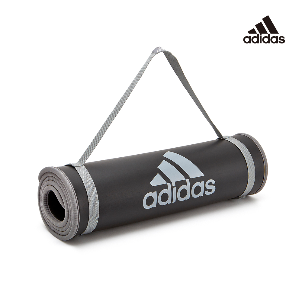 Adidas Training 專業加厚訓練運動墊-10mm(深灰)