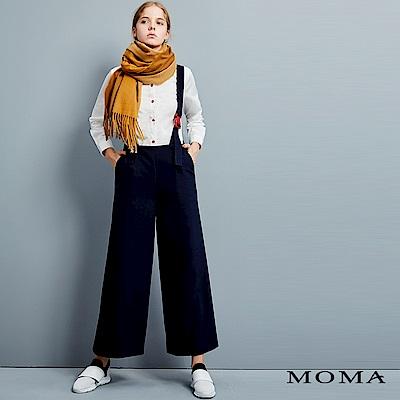 MOMA 釦環吊帶西裝寬褲